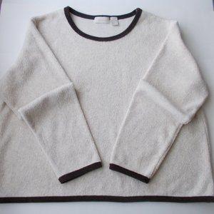 j.JILL Women's Sherpa Sweater Size L